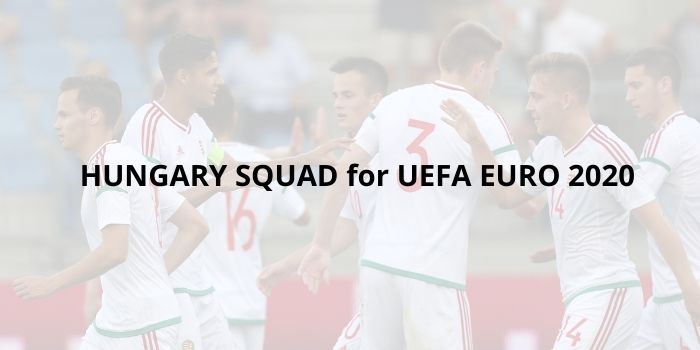hungary squad