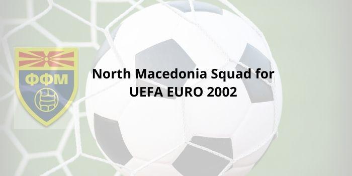 North Macedonia Squad