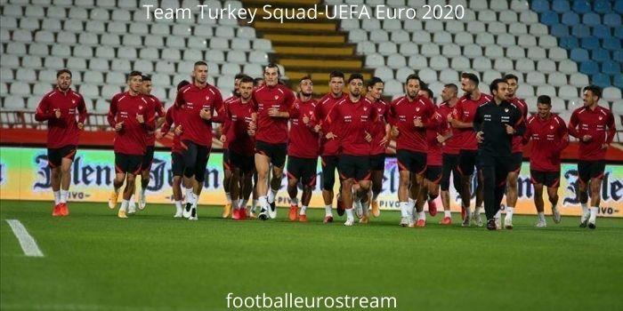Turkey Squad- UEFA Euro 2020
