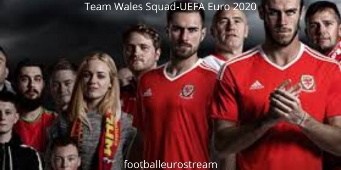 Wales Squad for UEFA Euro 2020