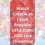 Croatia vs Czech Republic Live stream