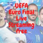 UEFA Euro Final Live Streaming free